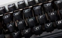 Tastatur der Schreibmaschine Stockbilder