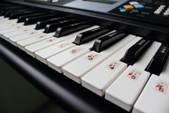Tastatur für die Disziplinierung von Studenten. Stockfotografie
