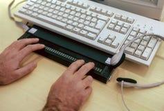 Tastatur für Vorhänge Stockfotografie
