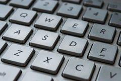Tastatur knöpft Nahaufnahme Lizenzfreies Stockfoto