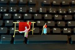 Tastatur, Miniatur Stockbilder