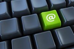 Tastatur mit Lizenzfreie Stockfotos