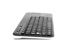 Tastatur mit Berührungsfläche Stockfotografie
