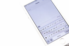 Tastatur Smartphone Stockbilder