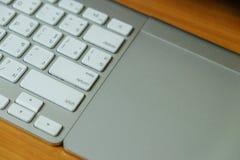 Tastatur und Berührungsfläche Lizenzfreie Stockfotos