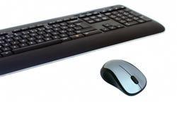 Tastatur und Maus Stockfoto