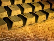 Tastatur und Pergament Stockbilder