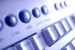 Tastatur, WWW-Taste Lizenzfreie Stockfotografie
