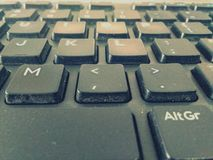 Tastaturbild, die Wörter, schreibend, schreiben, lernen Arbeit, Stockbild