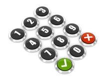Tastaturblock Lizenzfreie Stockbilder