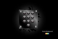 Tastaturblock-Vektor vektor abbildung