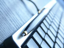 Tastaturnahaufnahme Stockfotos