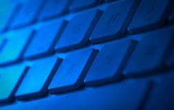 Tastaturnahaufnahme mit Kopienraum Lizenzfreie Stockfotos