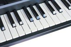 Tastatursynthesizer Stockfoto