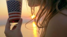 The taste of America stock video footage