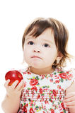 Taste of apple Royalty Free Stock Photo