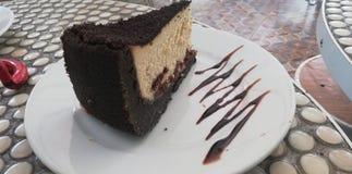 Chocolate cake delicious yummy royalty free stock photo
