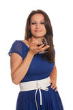 Taste of cognac Royalty Free Stock Images