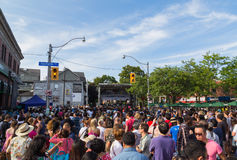 Taste of the Danforth Toronto Stock Photography