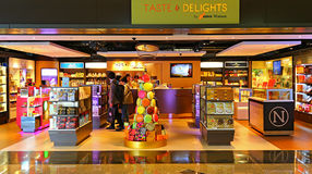 Taste & delights confectionery store, hong kong Stock Photos