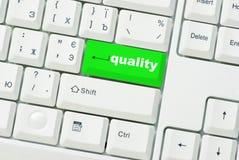 Taste der Qualität Lizenzfreies Stockfoto