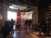 Taste It exhibit at World of Coca-Cola. Stock Photography