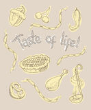 Taste of life Stock Image