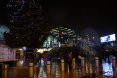 Taste of London Winter at Tobacco Dock Stock Photo
