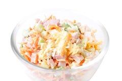 Taste salad Stock Image