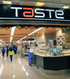 Taste supermarket in hong kong Stock Photo