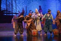 "Taste the tea samples-Dance drama ""The Dream of Maritime Silk Road"" Royalty Free Stock Image"