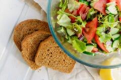 Taste of vegetarian summer concept Stock Photo