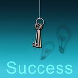 Taste zum Erfolg Lizenzfreie Stockfotografie