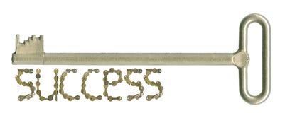 Taste zum Erfolg Stockfotos