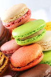 Tasted macaroons Royalty Free Stock Images