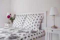 Tasteful bed linen Royalty Free Stock Image