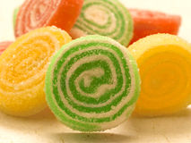 Tasteful  candies Royalty Free Stock Photography