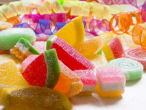 Tasteful candies Stock Photography