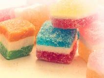 Tasteful candies Stock Images