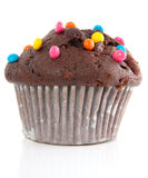 A tasteful chocolate muffin Stock Image