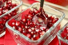 Tasteful Fresh Pomegranate Stock Images