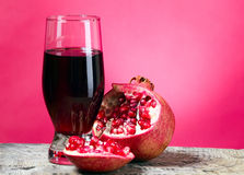 Tasteful fruit garnet Stock Photography