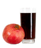 Tasteful fruit garnet Royalty Free Stock Photos