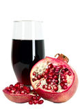 Tasteful fruit garnet Stock Image