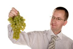 Tasteful grapes Stock Photo