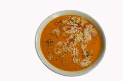 Tasteful soup - shkembe chorba Royalty Free Stock Image