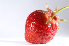 Tasteful strawberry Royalty Free Stock Image