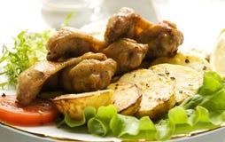 Tastefull dish Stock Photography