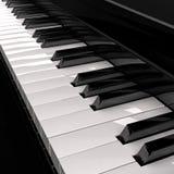 Tasten des großartigen Klaviers Lizenzfreies Stockfoto
