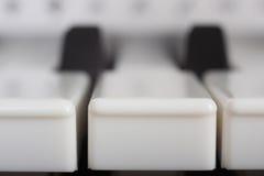 Tasten des Klaviers Lizenzfreie Stockfotos